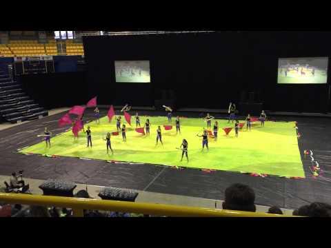Coosa Middle School Winterguard - Championship 3/28/15