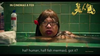 The Mermaid by Stephen Chow Official Trailer 2016 Hong Kong-Chinese ...