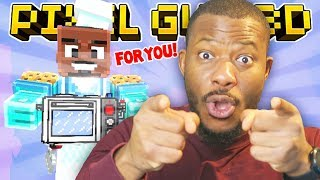 BE IN MY UPCOMING VIDEO!!   Pixel Gun 3D