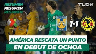 Resumen y Goles Tigres 1 -  1 América | Liga MX  - Apertura 2019 - Jornada 6 | TUDN