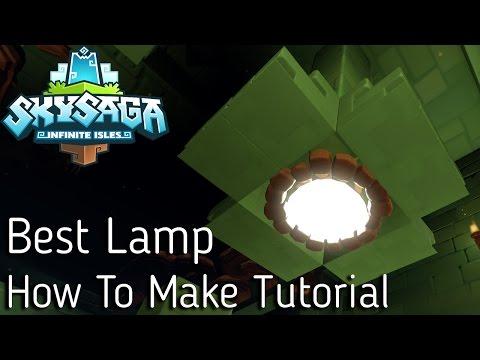 SkySaga :: How To Make *Best Lamp* | Lamp Idea