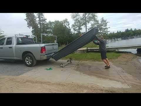 Loading Boat Onto My Car Roof