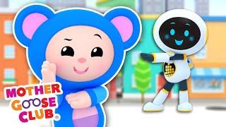 Rockin' Robot + More | Mother Goose Club Cartoons #NurseryRhymes