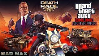 GTA Online: DLC Arena War - Esto Es Lo Que Pasa Cuando Unes Death Race & Mad Max! - PS4 Pro