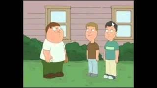 Family guy Peter hits puberty backwards