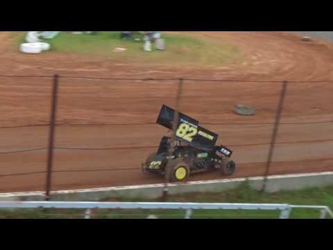 7/8/17 - Heat Race #2 - Southern United Sprints at Gator Motorplex