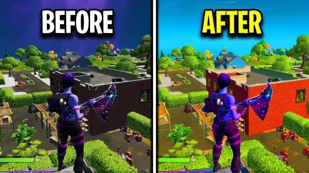The Best Graphics Settings Fortnite Chapter 2 Huge Improvement