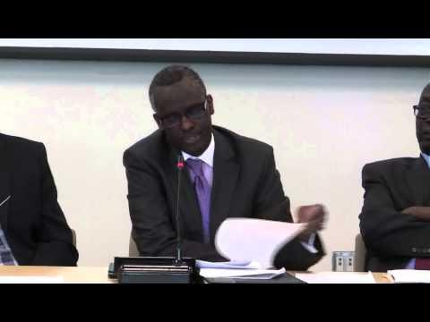Justice Isaac Lenaola: Plenary Session 1, Sudan/South Sudan Symposium