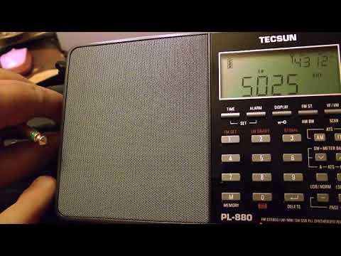 5025kHz Radio Rebelde / PL-880&AN-12 vs NRD-545&ALA-1530S+