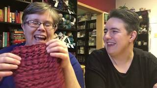 Faking Sanity Knitting and Spinning Podcast Episode 7: Creepy Eyebrows