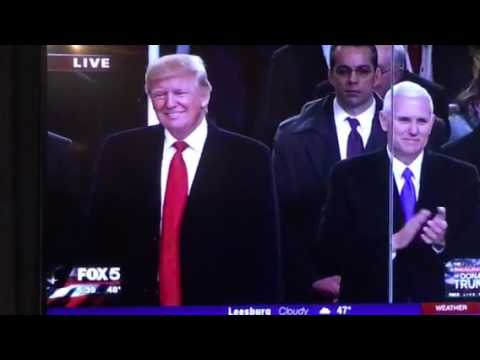 Alabama Band at Inauguration of Donald Trump