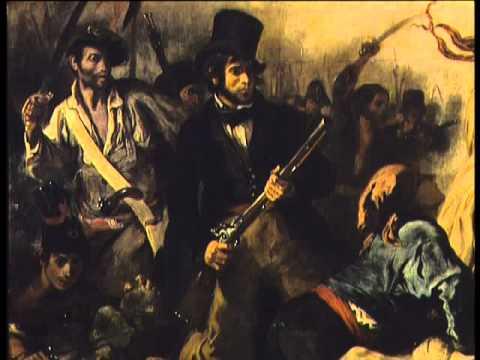La révolution de 1830 selon Delacroix.avi