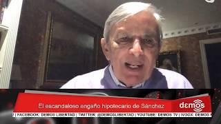 Roberto Centeno: El escandaloso engaño hipotecario de Sánchez I Demos (2018-11-12)