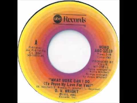O V  Wright   What More Can I Do