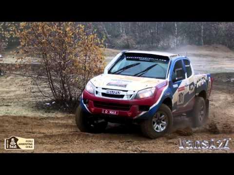 Dakar Rally Raid 2013 - Isuzu D-Max UK Shakedown