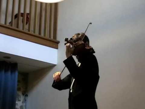 Frédéric Pelassy, 3° sonate pour violon seul d'Eugène YSAYE