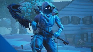 FORTNITE-I BOUGHT THE NEW LEGENDARY SKIN OF THE FROZEN RAVEN