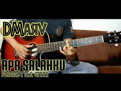 Apa Salahku - D'masiv, fingerstyle gitar cover by rivo lindo