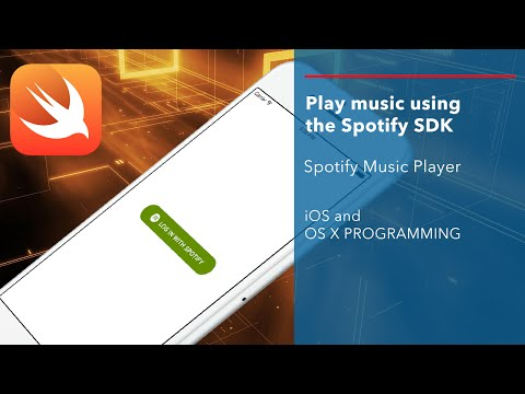 iOS Swift Tutorial: Stream Music from Spotify