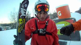 GoPro HD HERO Camera: Big Air Contest at Dew Tour Championship