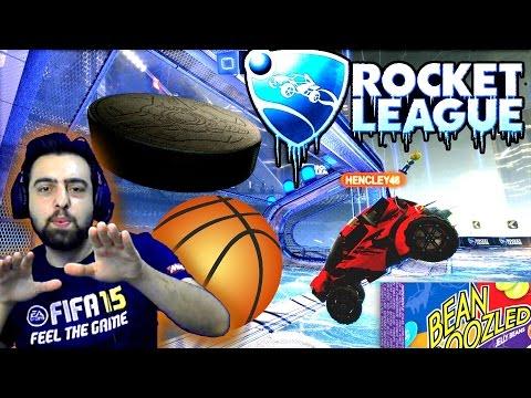 Cezali Rocket League  Ümidilerin Gücü   Buz Hokeyi ve Basketbol Modu   Ps4