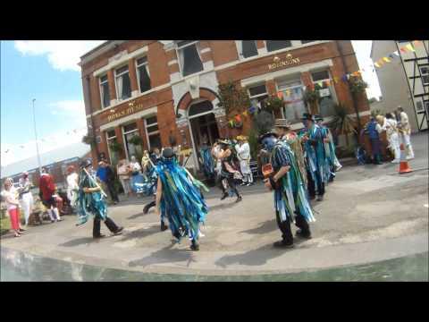 2014 Middlewich boat and folk festival