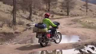 2000kms en moto à travers les steppes Mongoles