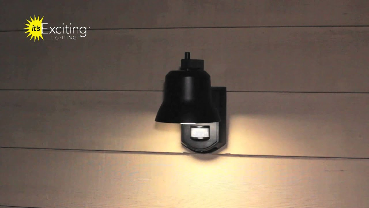 Motion Sensor Porch Light by Its Exciting Lighting YouTube