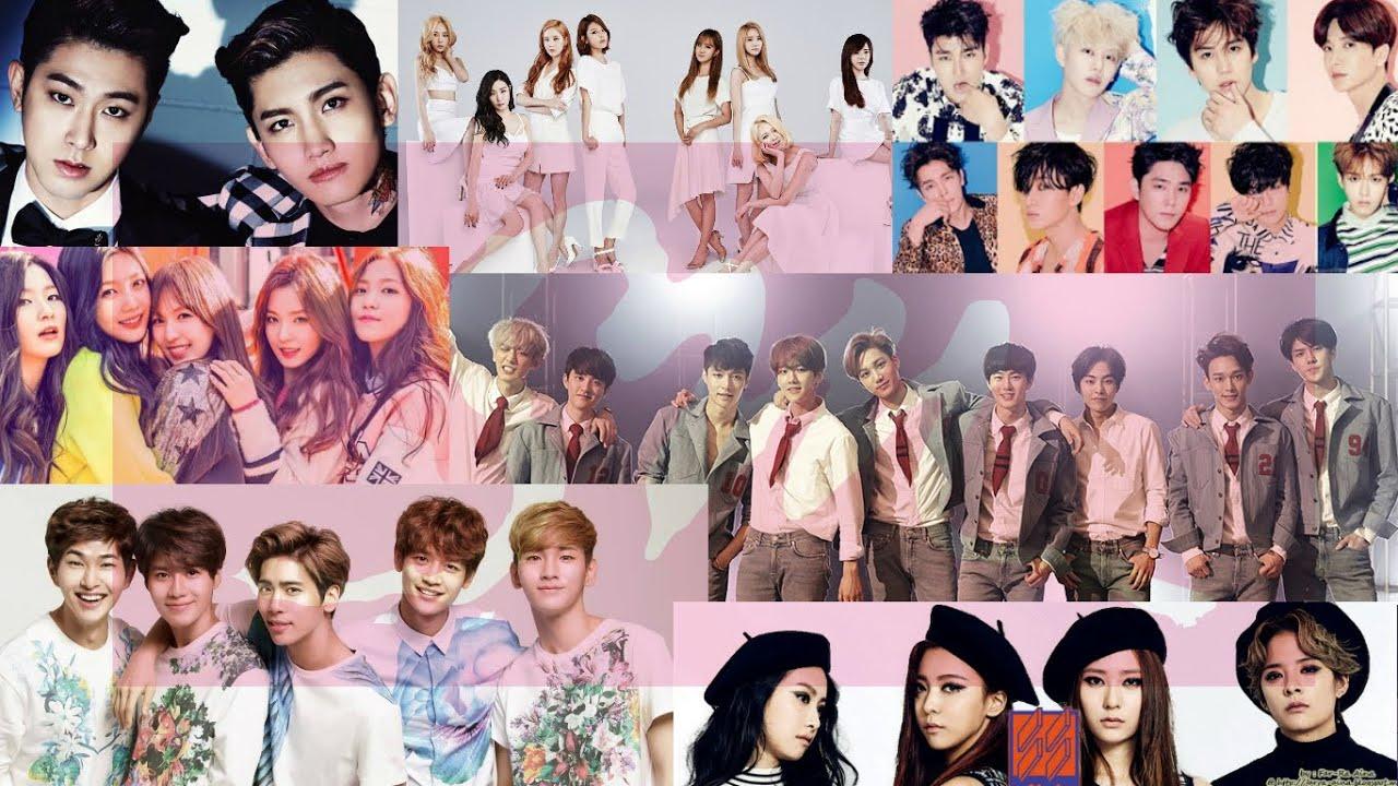 Wallpaper Girl Band Korea 2015 Sm Entertainment Groups Youtube
