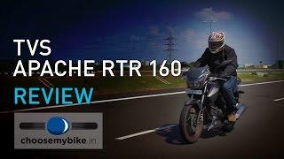 TVS Apache RTR 160 : ChooseMyBike.in Review