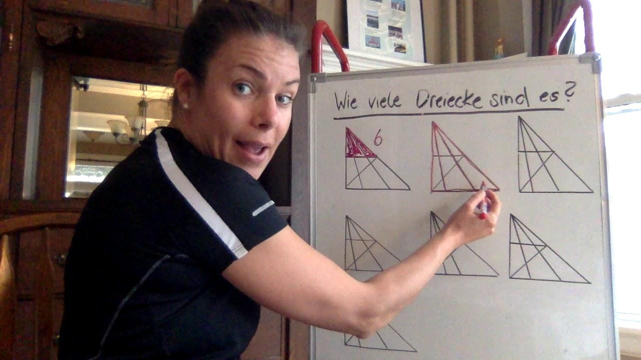 Wie viele Dreiecke sind es? TIPP - YouTube