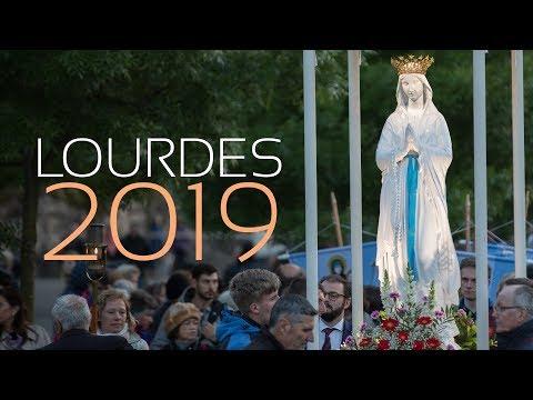 Calendrier Des Pelerinages Lourdes 2019.Pelerinage Diocesain Lourdes 2019 Youtube