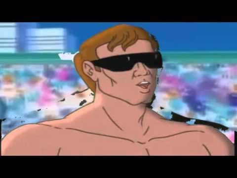 Johnny Cage vs Mr Satan (  ジョニーケージ VS ミスター・サタン )