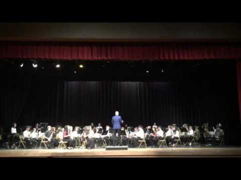 Osceola 2017 All County Band Middle School Santa Fe Trail