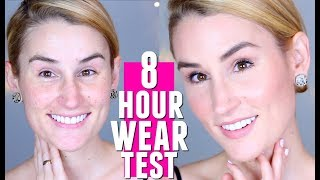 WANDER BEAUTY 8 HOUR WEAR TEST | Cruelty Free Makeup Honest Review