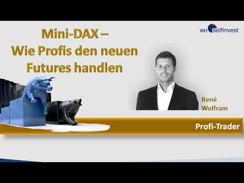 Mini-DAX : Wie Profis den neuen Future handeln  – Rene Wolfram