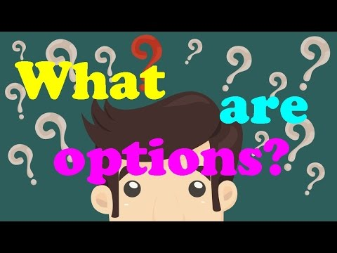 What are options? A simple, understandable explanation // What is an option Stock options explained