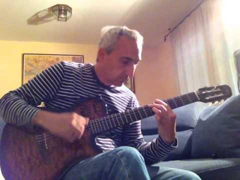 Ancora Qui by Ennio Morricone & Elisa Toffoli (guitar only / guitarra)