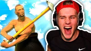 THIS GAME IS HARD! (Getting Over it)