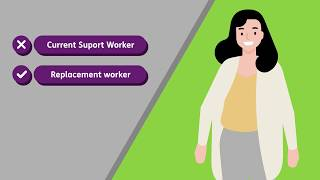 My regular Support workers can't deliver services to me
