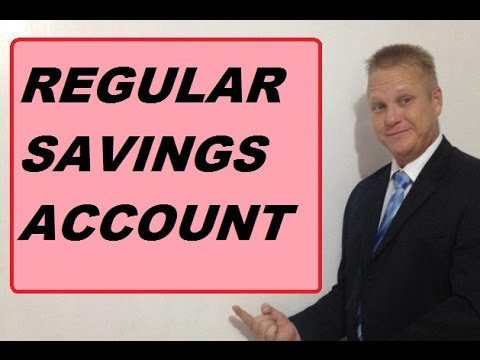 Regular Savings Accounts - Are They A Waste Of Time?
