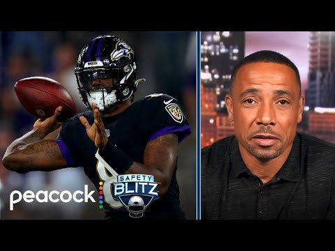 Collinsworth: The Ravens are a 'team looking to win a Super Bowl'   Safety Blitz   NBC Sports