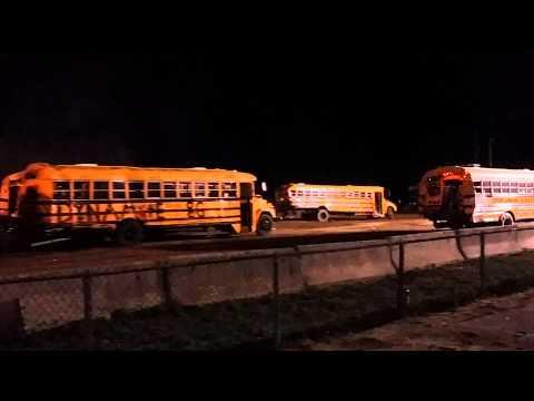 School bus demo derby 2