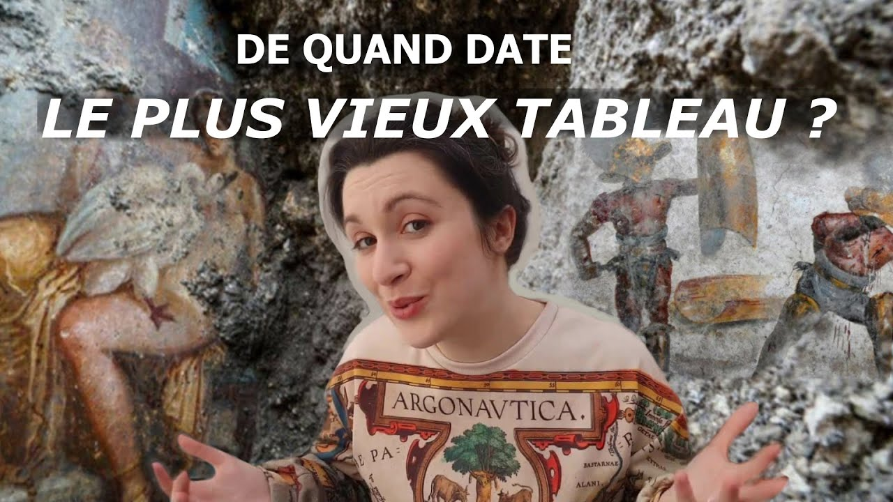 Nouvelle vidéo : LE PLUS VIEUX TABLEAU et CONCOURS DE GROS PINCEAUX