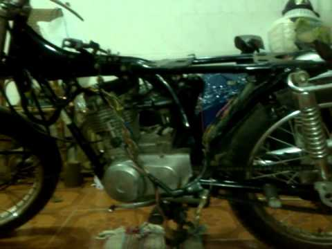 HONDA CG 125 UNKNOW YEAR ELECTRIC SYSTEM SERVICING YouTube