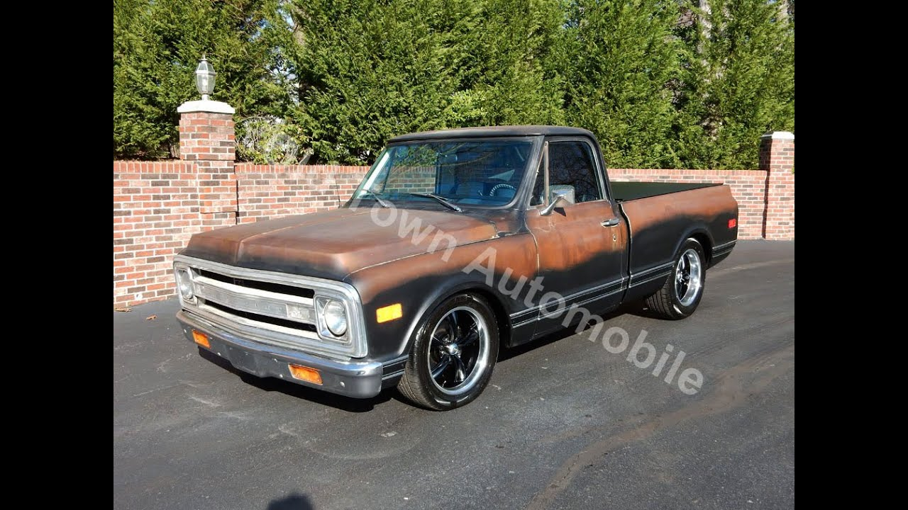 1971 Chevy C10 Truck for sale Old Town Automobile in Maryland - YouTube
