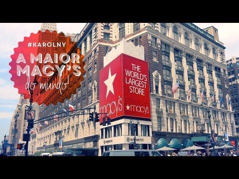 #karolNY: Um tour pela maior Macy
