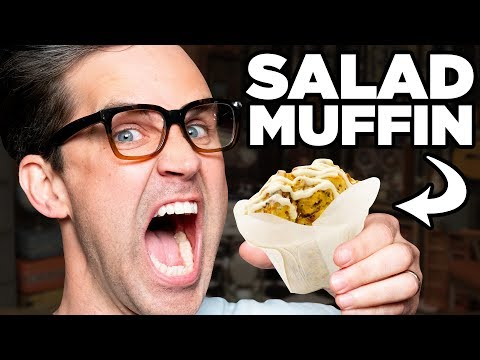 Caesar Salad Muffin Taste Test