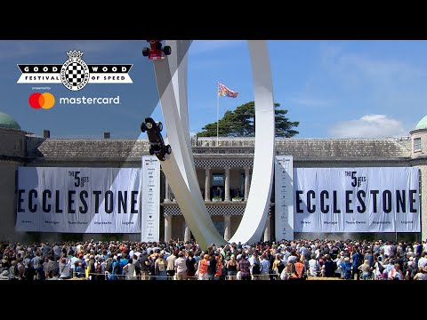 Celebrating the Five Ages of Ecclestone at FOS