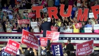 Full Event: Donald Trump Holds HUGE Rally in Roanoke, VA (RSB Cameras) 9/24/16